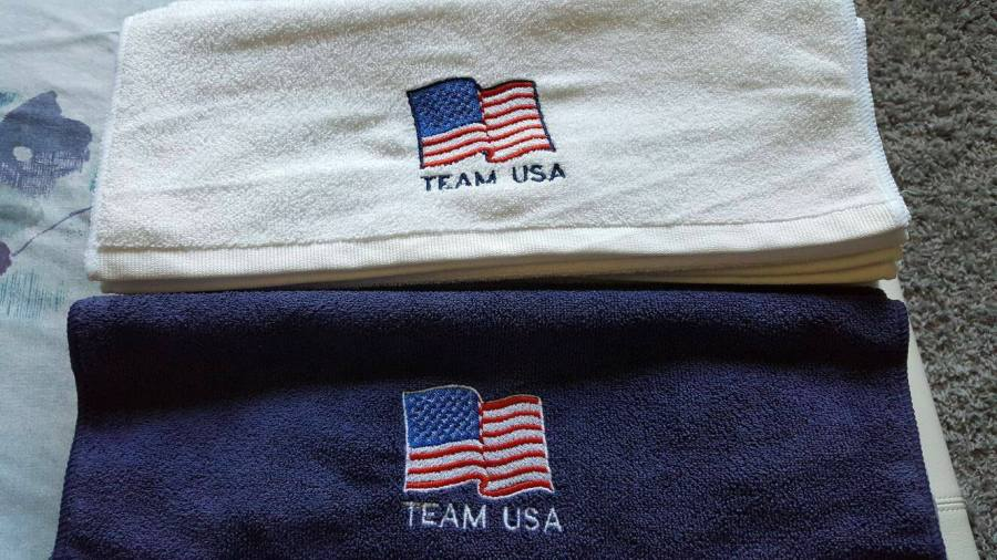 Miami Shotokan Team USA Microfiber Towels